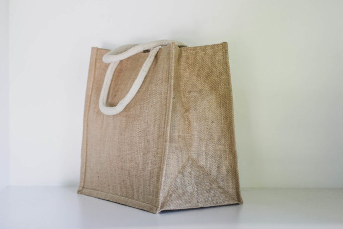 Claytons Australia Small Jute bag 3