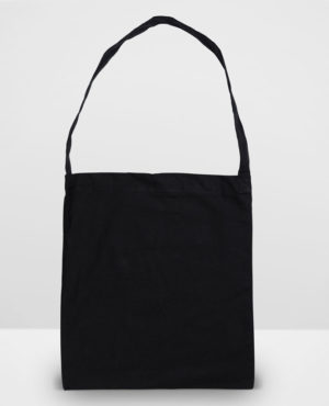 Black Calico Library Bags