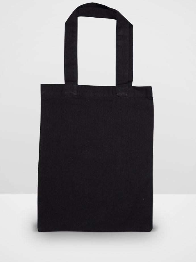 Black Calico Tote Bag