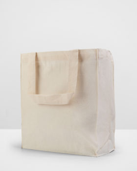 Calico Retail Bag